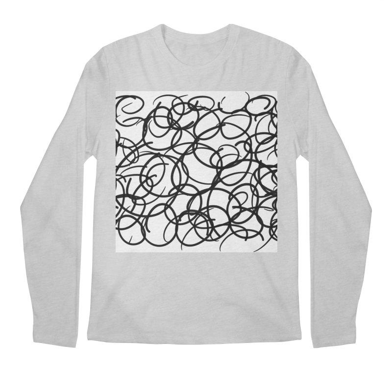 Circular Men's Regular Longsleeve T-Shirt by Lidflutters