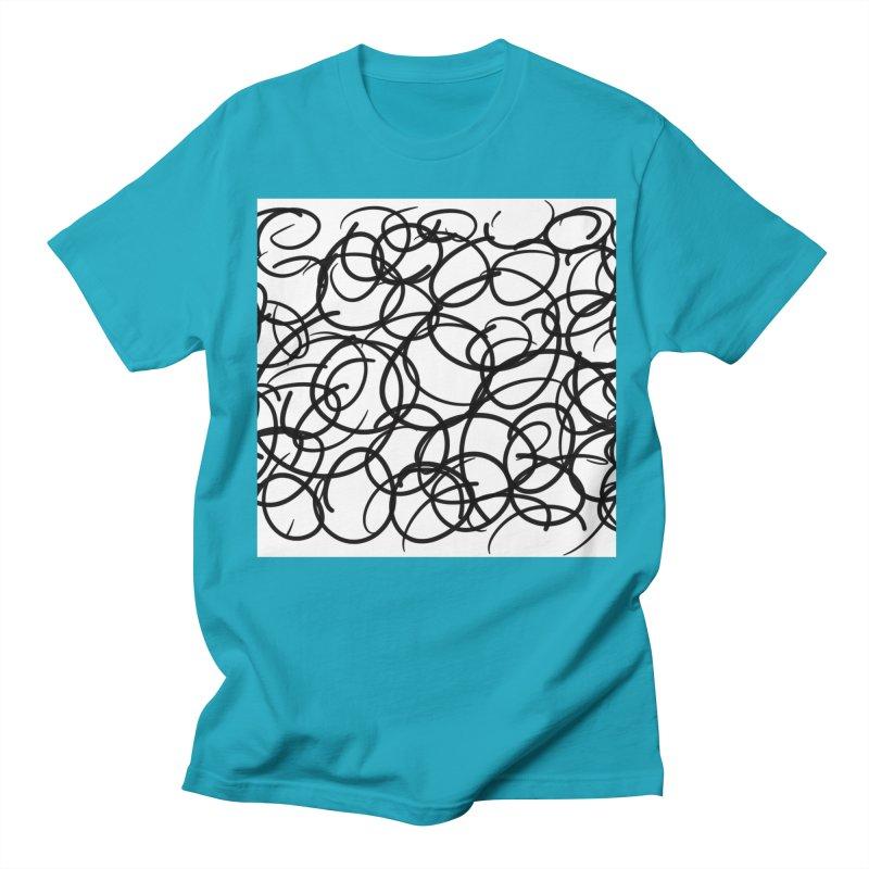 Circular Men's Regular T-Shirt by Lidflutters