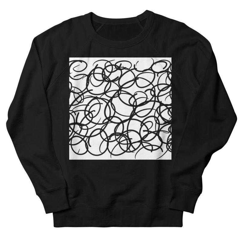 Circular Men's French Terry Sweatshirt by Lidflutters