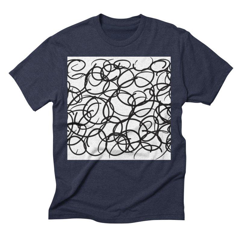 Circular Men's Triblend T-Shirt by Lidflutters