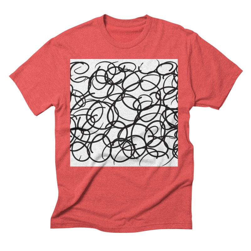 Circular Men's Triblend T-Shirt by Lidflutters