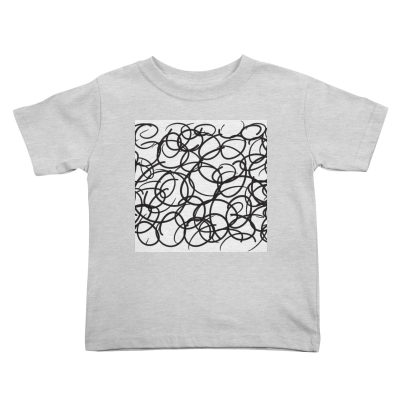 Circular Kids Toddler T-Shirt by Lidflutters