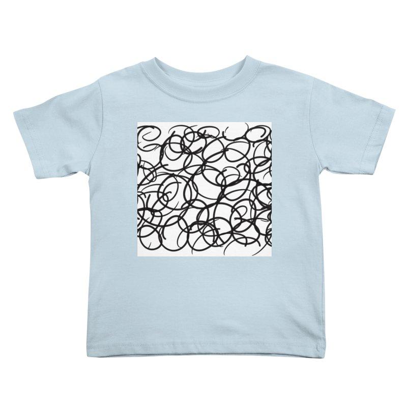 Circular Kids Toddler T-Shirt by Lidflutters