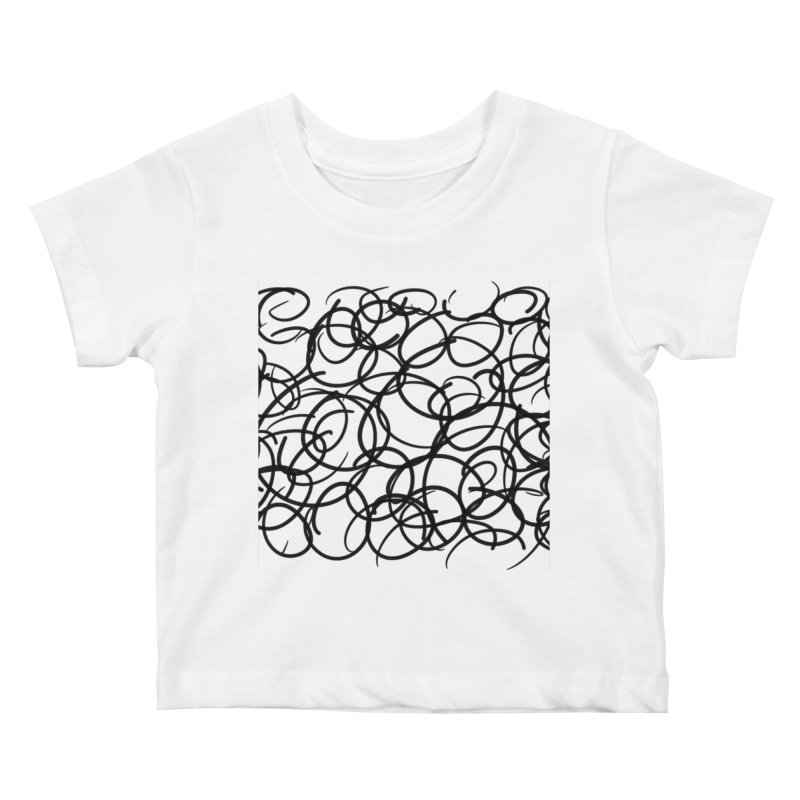 Circular Kids Baby T-Shirt by Lidflutters