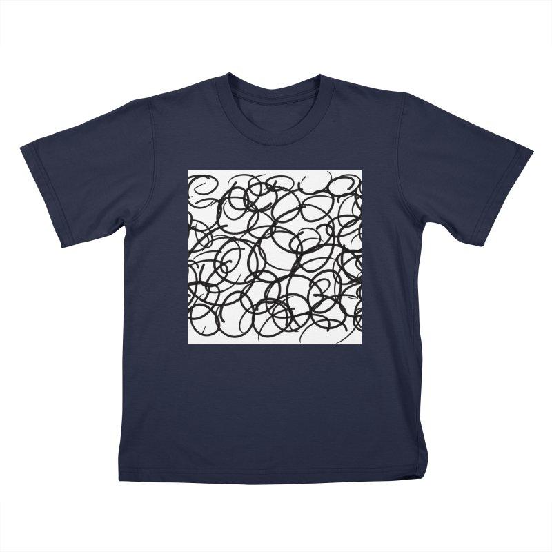 Circular Kids T-Shirt by Lidflutters