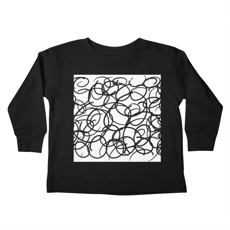 Circular Kids Toddler Longsleeve T-Shirt by Lidflutters