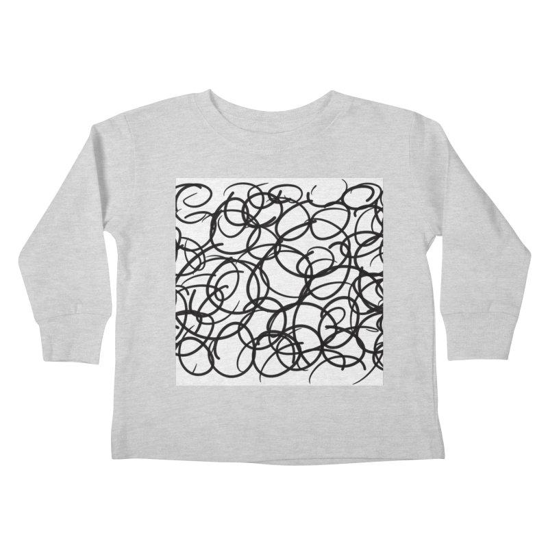 Circular Kids Toddler Longsleeve T-Shirt by Lidflutters