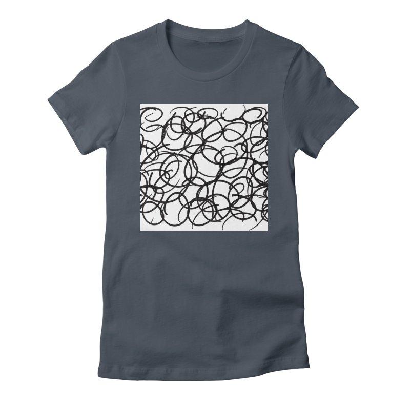 Circular Women's T-Shirt by Lidflutters