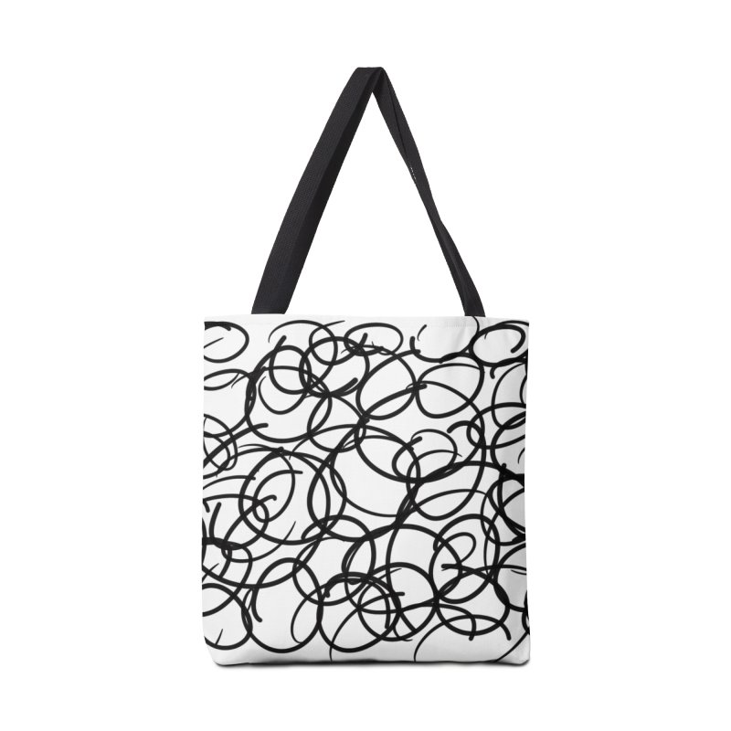Circular Accessories Tote Bag Bag by Lidflutters