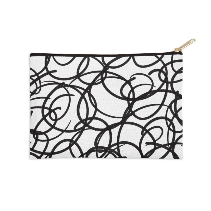 Circular Accessories Zip Pouch by Lidflutters