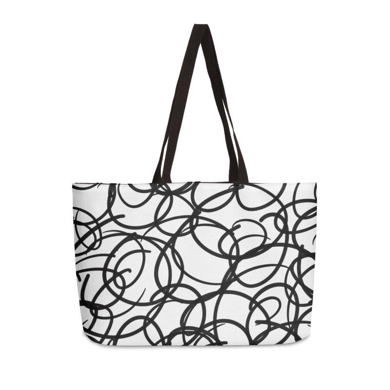 Circular Accessories Weekender Bag Bag by Lidflutters