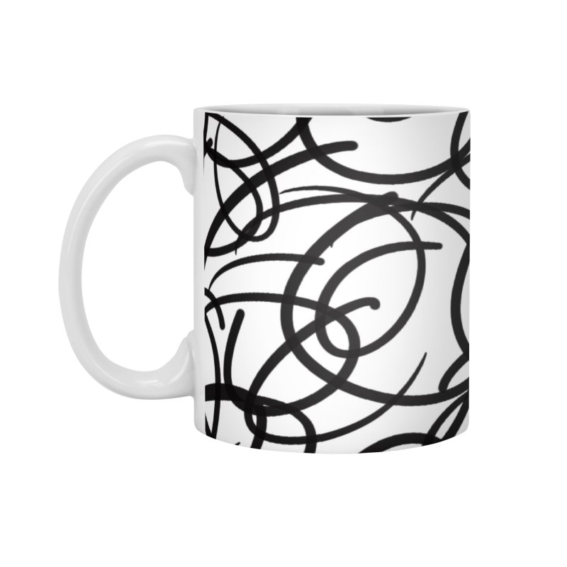 Circular Accessories Mug by Lidflutters