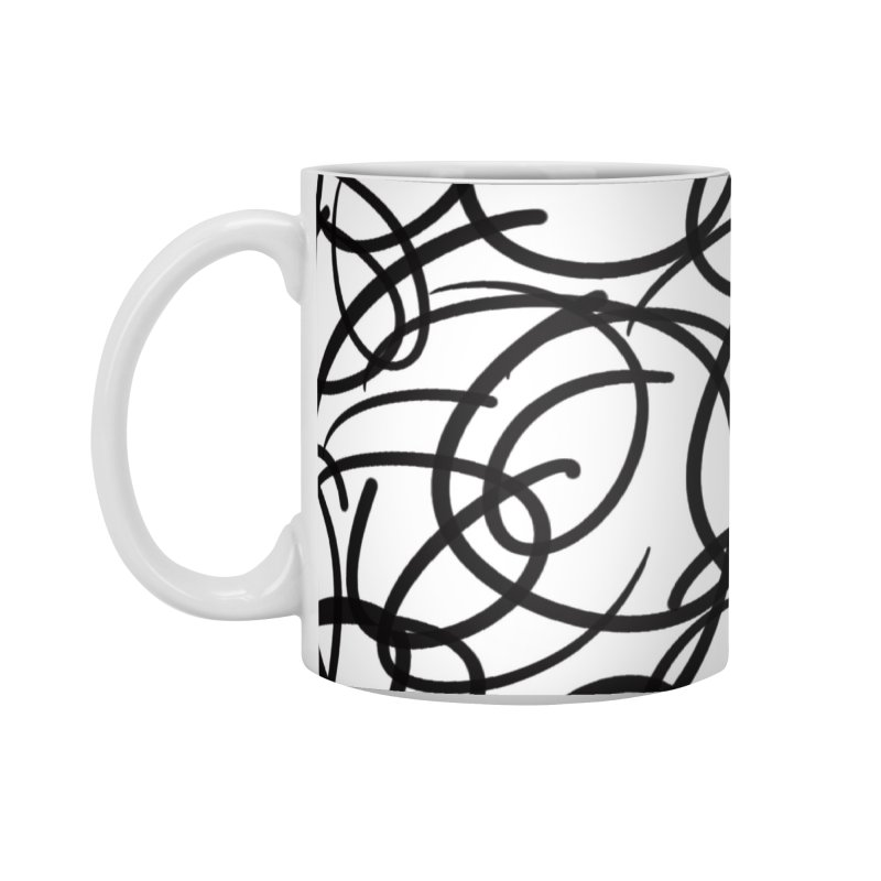 Circular Accessories Standard Mug by Lidflutters