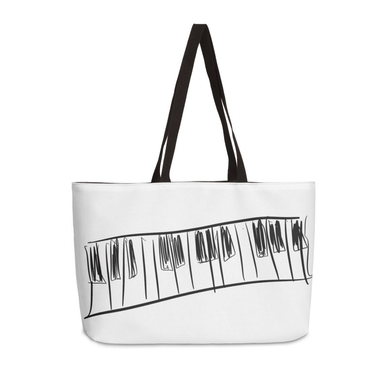 Tickle the ivory's Accessories Weekender Bag Bag by Lidflutters