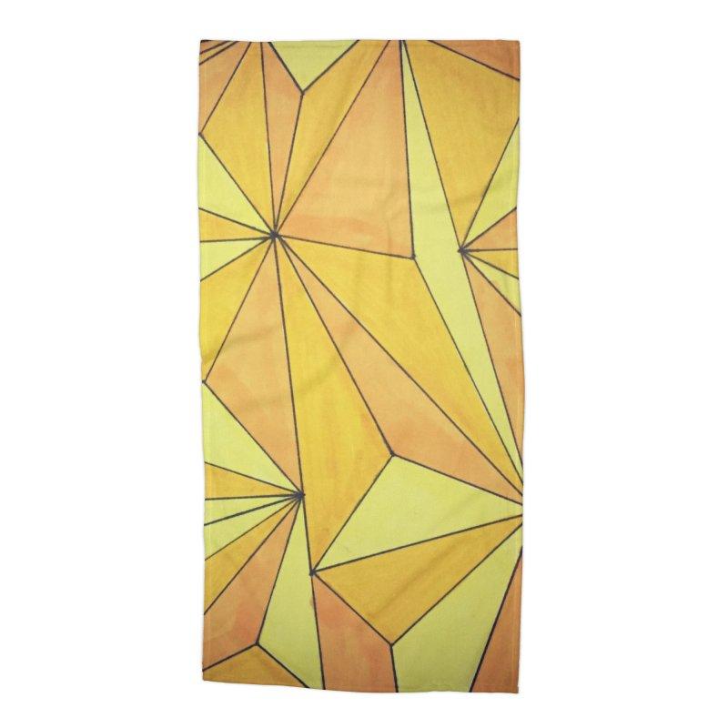 Golden prism Accessories Beach Towel by Lidflutters