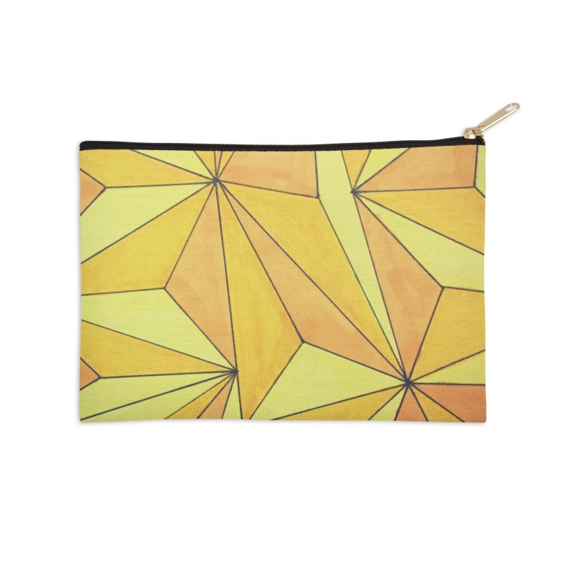 Golden prism Accessories Zip Pouch by Lidflutters