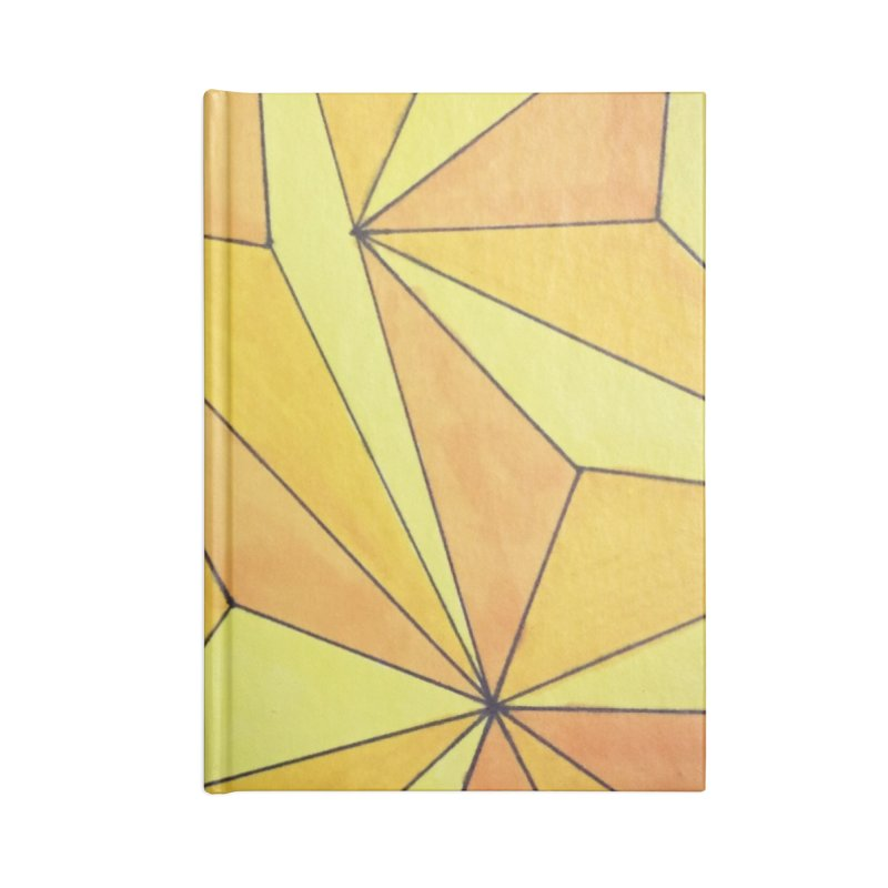 Golden prism Accessories Lined Journal Notebook by Lidflutters