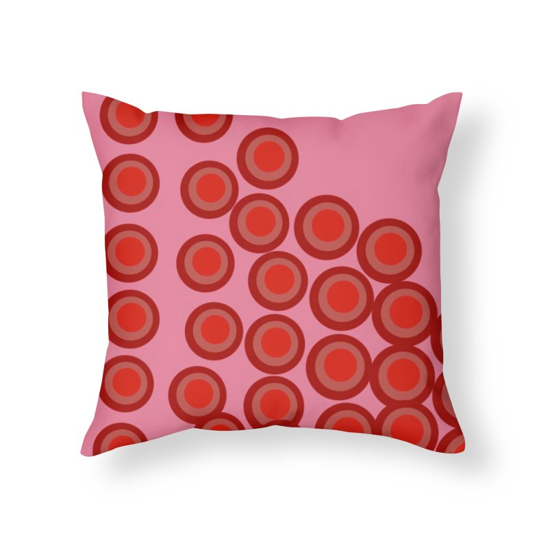 Connect 4 Home Throw Pillow by Lidflutters