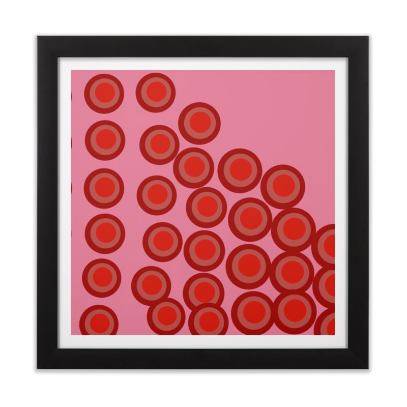 Connect 4 Home Framed Fine Art Print by Lidflutters