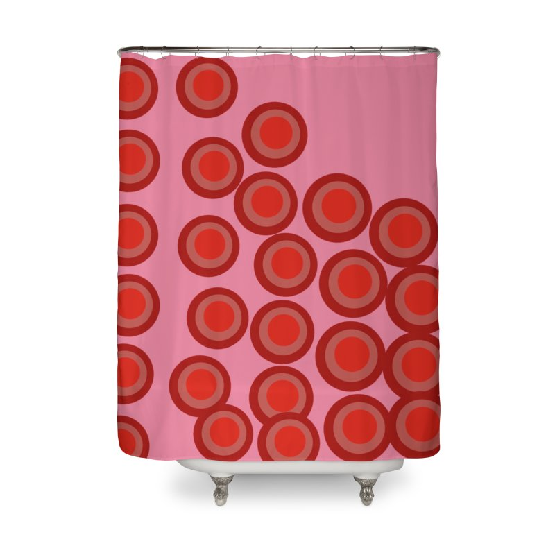 Connect 4 Home Shower Curtain by Lidflutters