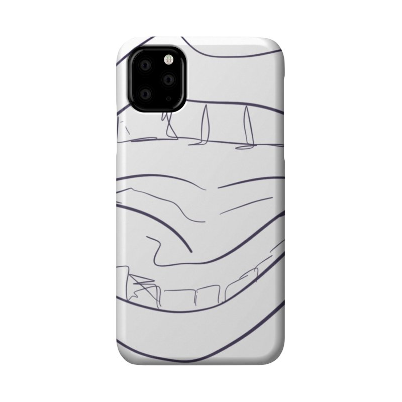 Open wide Accessories Phone Case by Lidflutters