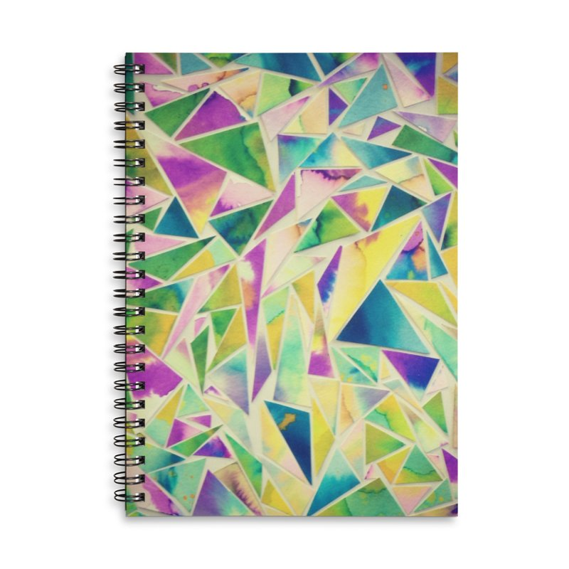 Lilly pads Accessories Lined Spiral Notebook by Lidflutters