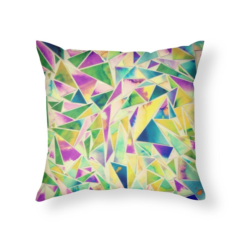 Lilly pads Home Throw Pillow by Lidflutters