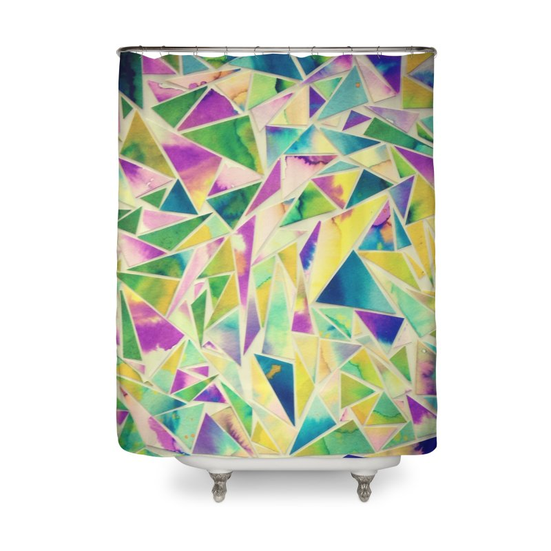Lilly pads Home Shower Curtain by Lidflutters