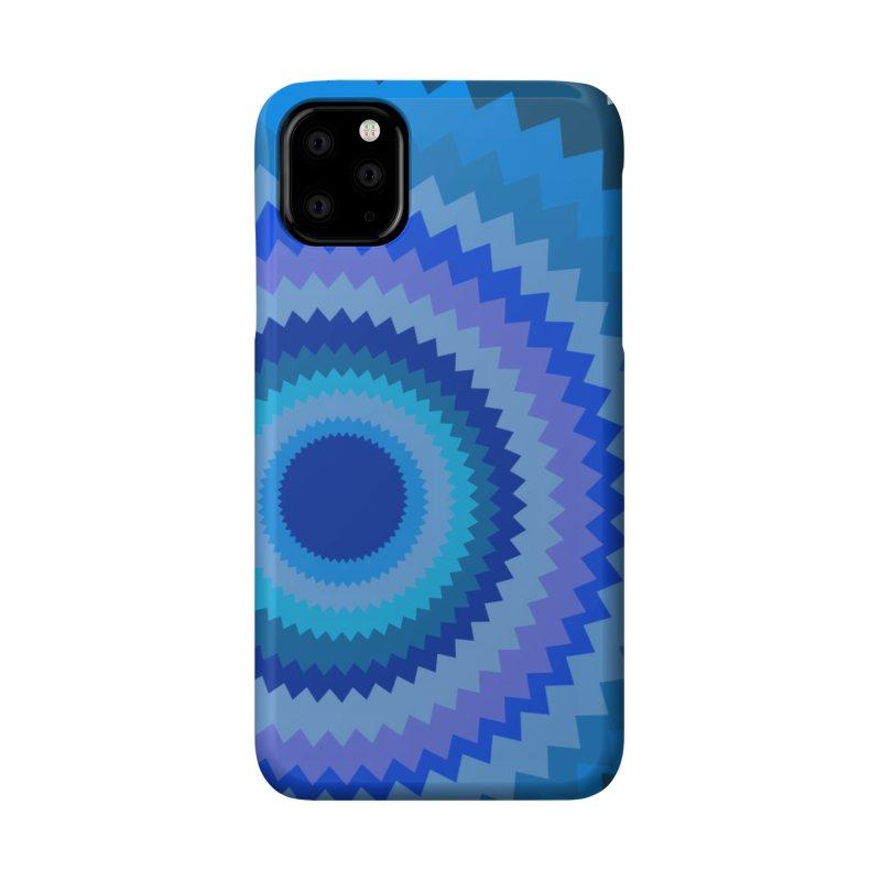 Blue devil Accessories Phone Case by Lidflutters