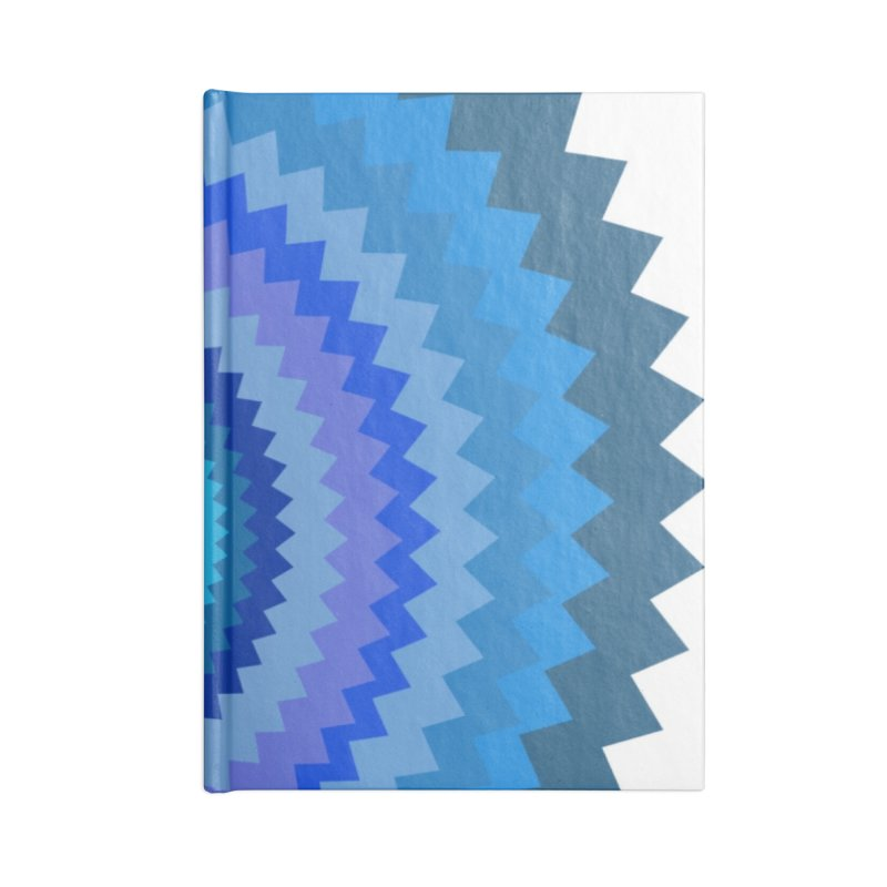Blue devil Accessories Lined Journal Notebook by Lidflutters