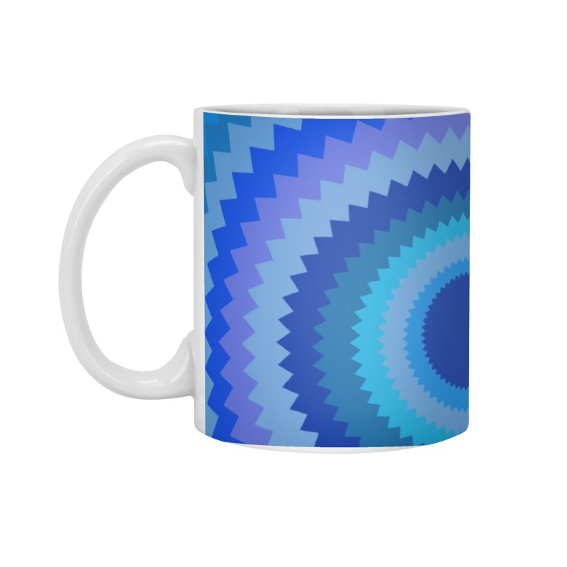 Blue devil Accessories Standard Mug by Lidflutters