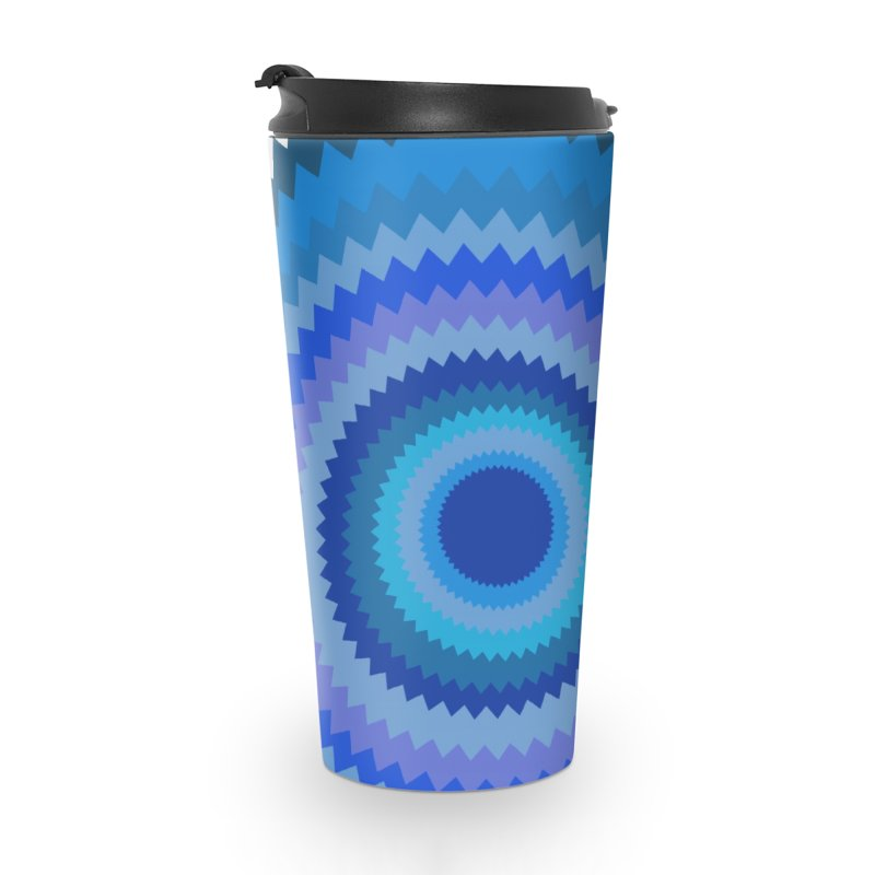 Blue devil Accessories Travel Mug by Lidflutters