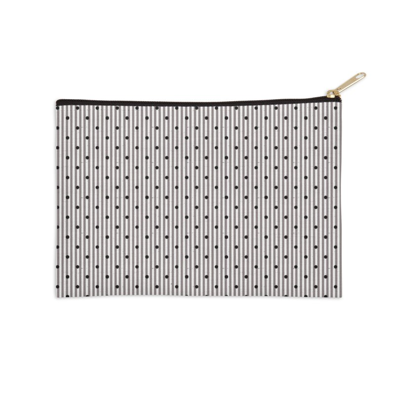 Dots and stripes Accessories Zip Pouch by Lidflutters