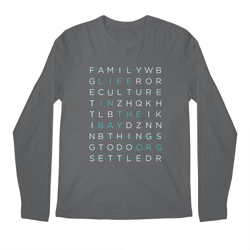 Crossword - #lifeinthebay Men's Longsleeve T-Shirt by #lifeinthebay