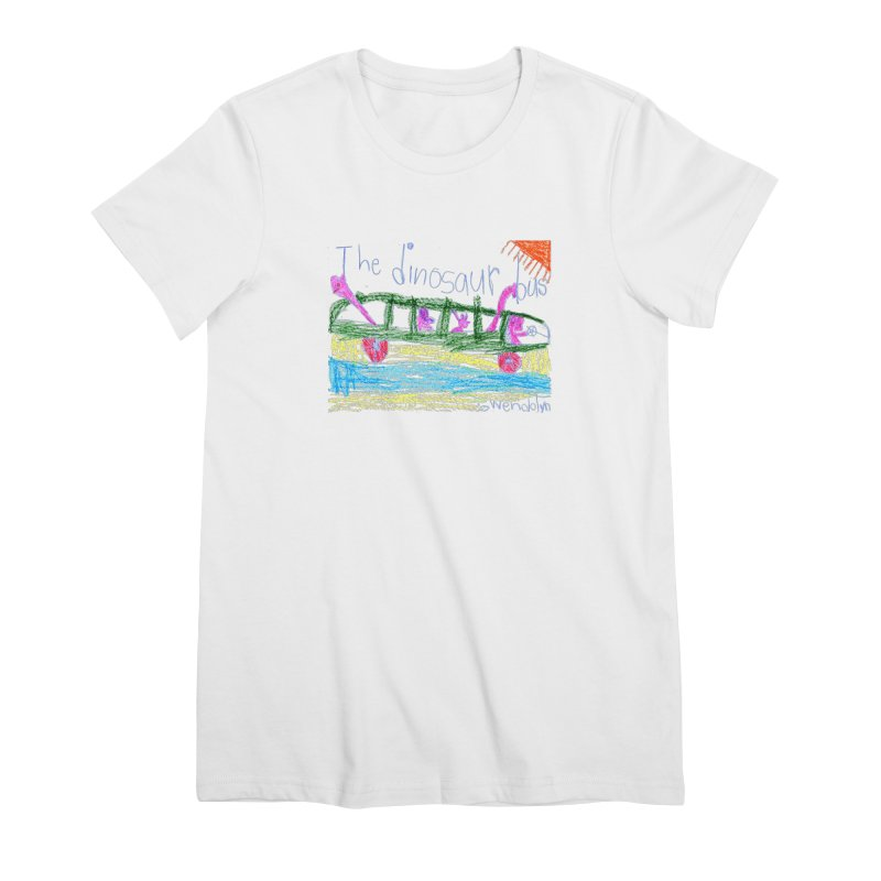 The Dinosaur Bus Women's Premium T-Shirt by The Life of Curiosity Store