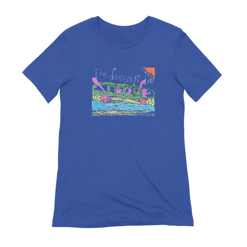 The Dinosaur Bus Women's Extra Soft T-Shirt by The Life of Curiosity Store
