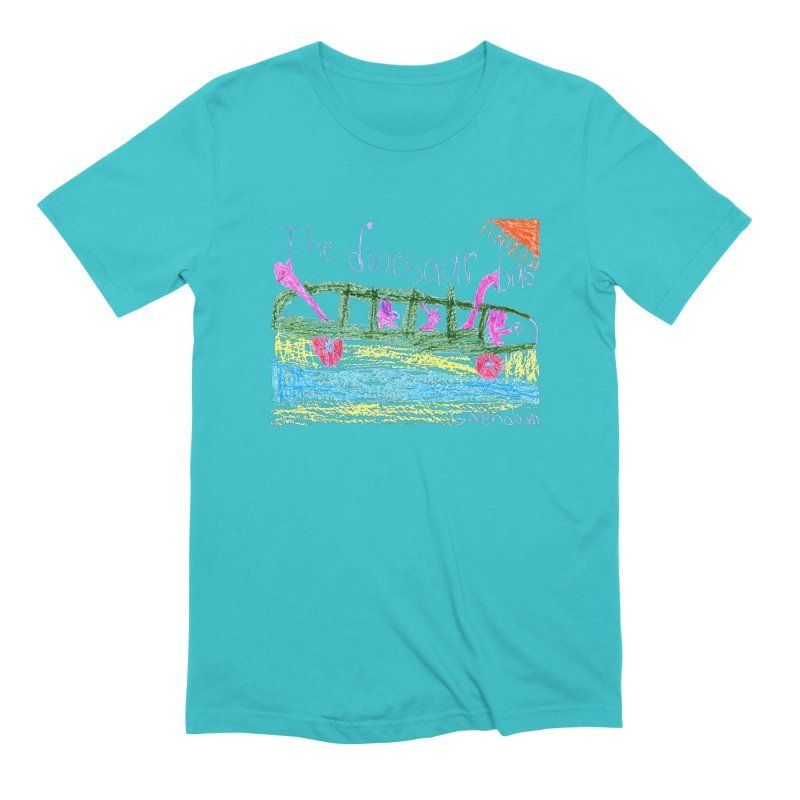 The Dinosaur Bus Men's Extra Soft T-Shirt by The Life of Curiosity Store