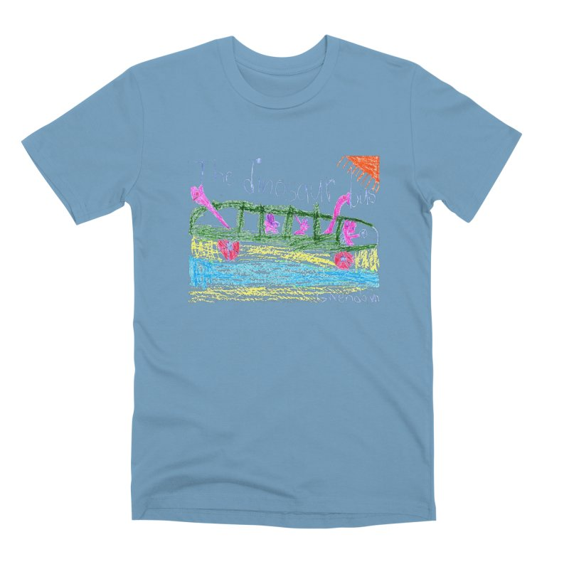 The Dinosaur Bus Men's Premium T-Shirt by The Life of Curiosity Store