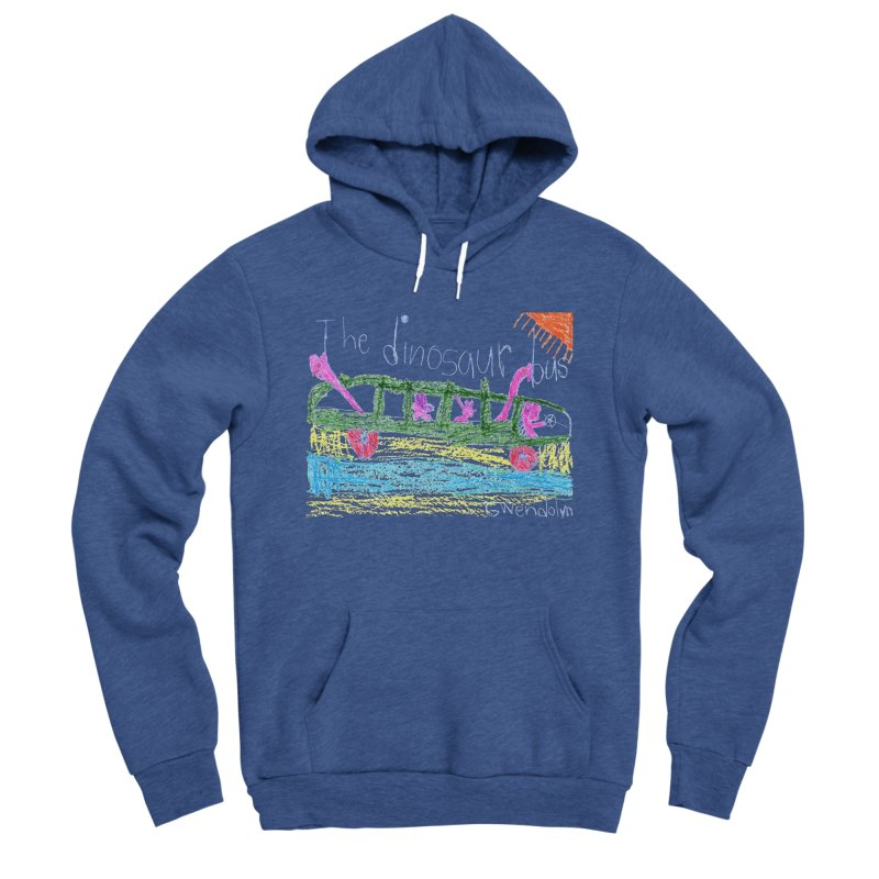 The Dinosaur Bus Men's Sponge Fleece Pullover Hoody by The Life of Curiosity Store