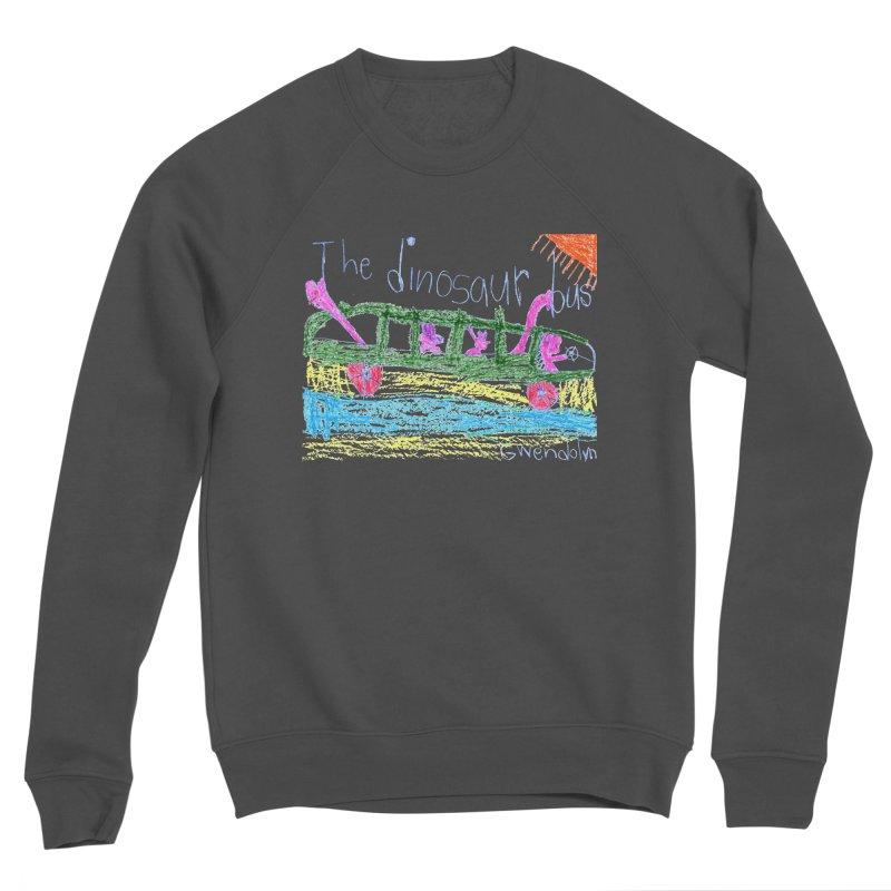 The Dinosaur Bus Women's Sponge Fleece Sweatshirt by The Life of Curiosity Store