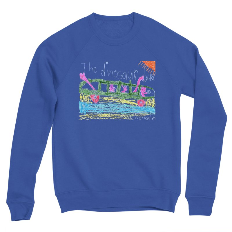 The Dinosaur Bus Men's Sponge Fleece Sweatshirt by The Life of Curiosity Store