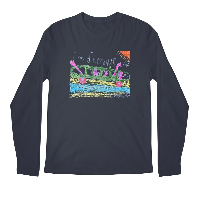 The Dinosaur Bus Men's Regular Longsleeve T-Shirt by The Life of Curiosity Store