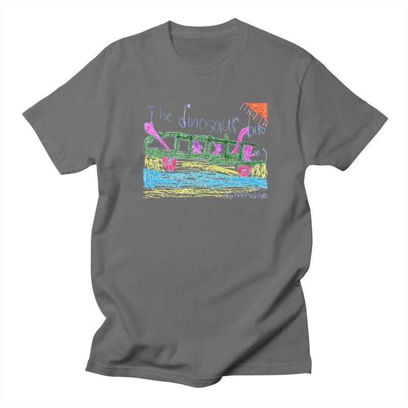 The Dinosaur Bus Men's T-Shirt by The Life of Curiosity Store