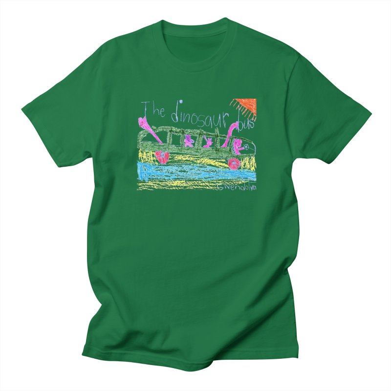 The Dinosaur Bus Women's T-Shirt by The Life of Curiosity Store