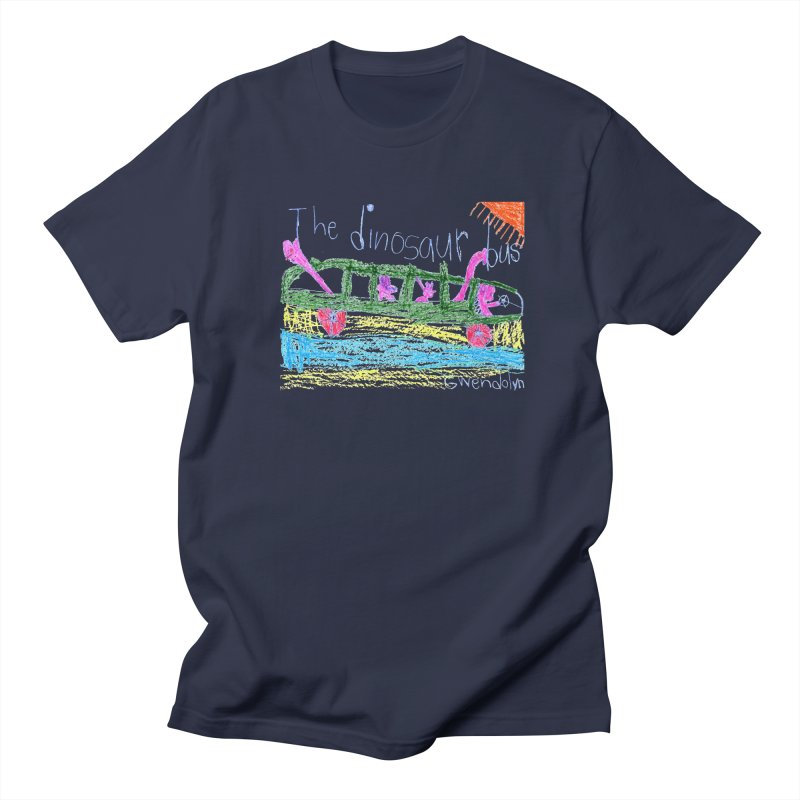The Dinosaur Bus Men's Regular T-Shirt by The Life of Curiosity Store