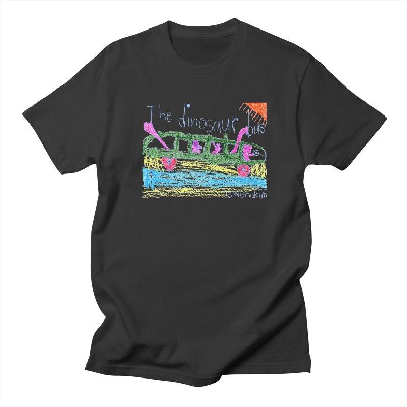 The Dinosaur Bus Men's Regular T-Shirt by The Life of Curiosity Store