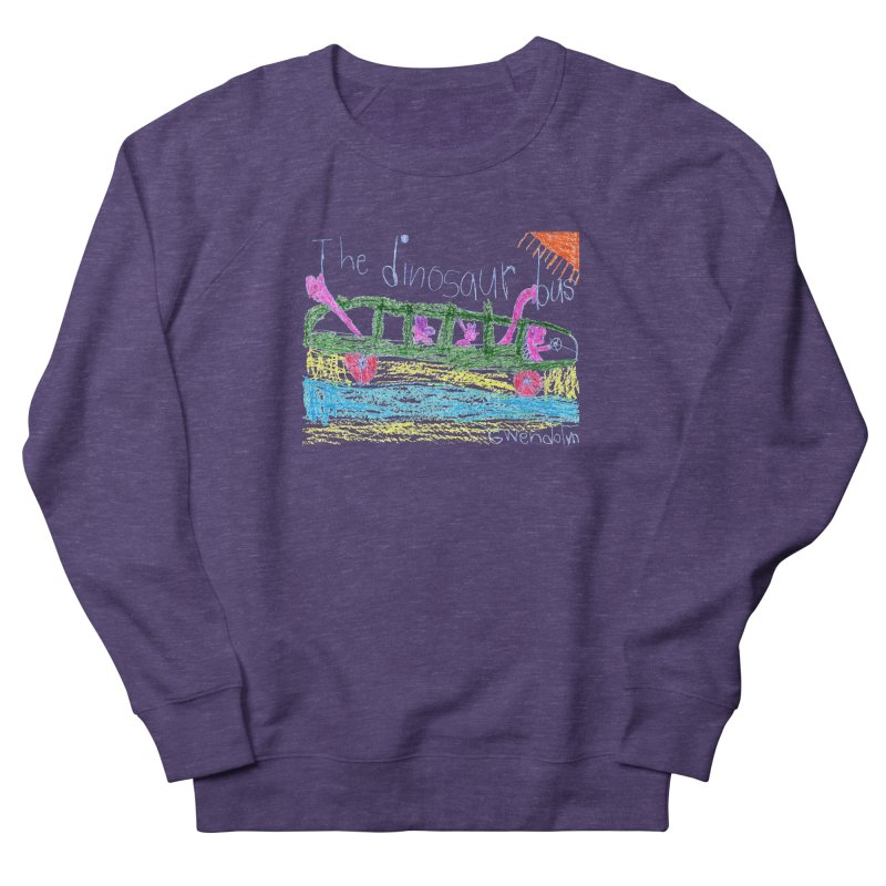 The Dinosaur Bus Men's French Terry Sweatshirt by The Life of Curiosity Store