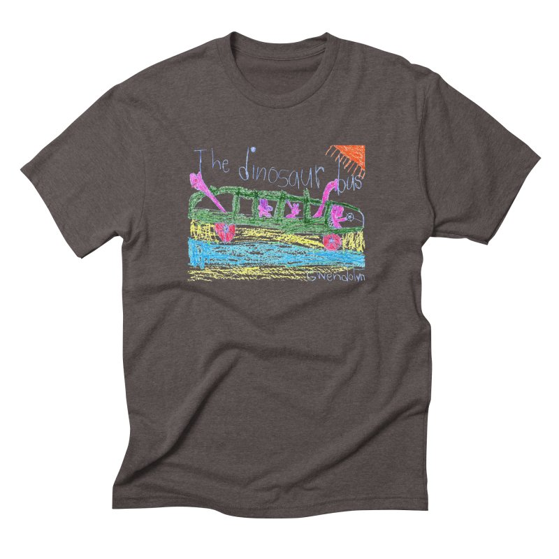 The Dinosaur Bus Men's Triblend T-Shirt by The Life of Curiosity Store
