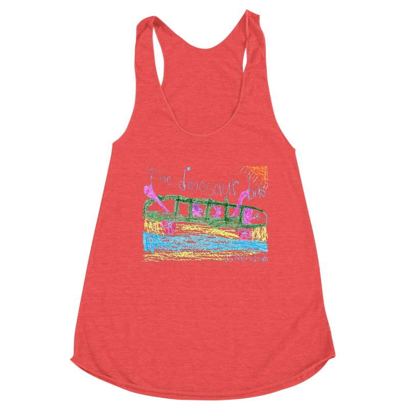 The Dinosaur Bus Women's Tank by The Life of Curiosity Store