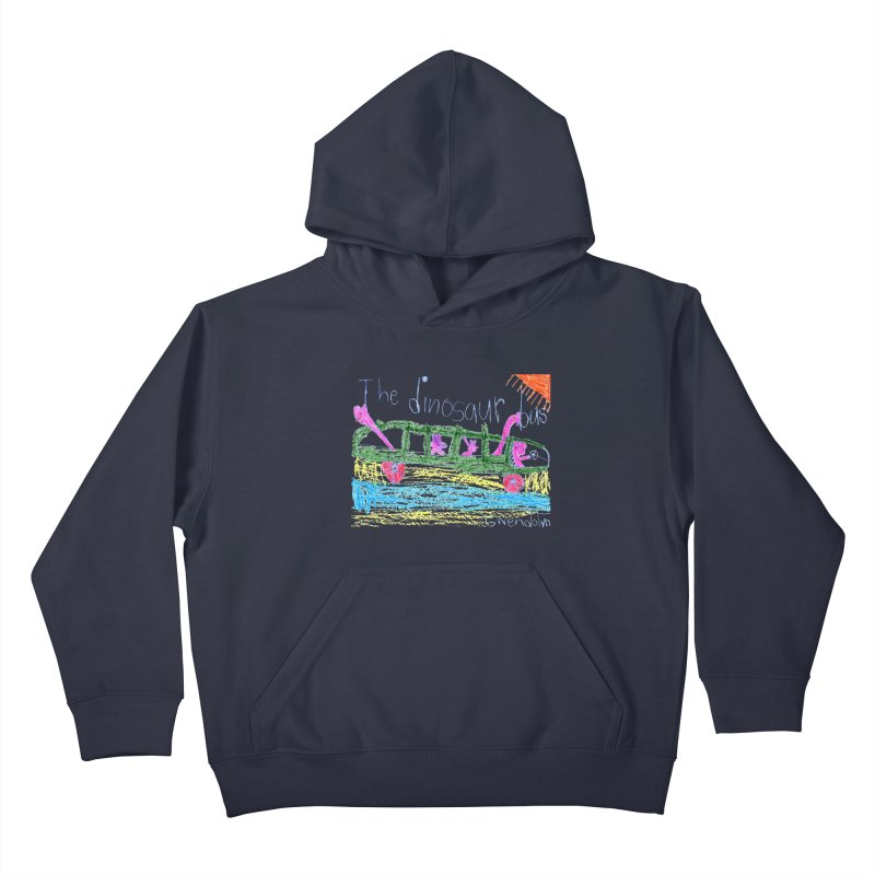 The Dinosaur Bus Kids Pullover Hoody by The Life of Curiosity Store